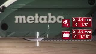 Akuhöövel Metabo HO 18 LTX 20-82 - ilma aku ja laadijata