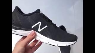Женские кроссовки New balance WX711BH3. черные, графитовые