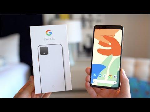 Google Pixel 4 XL Unboxing! - UCbR6jJpva9VIIAHTse4C3hw