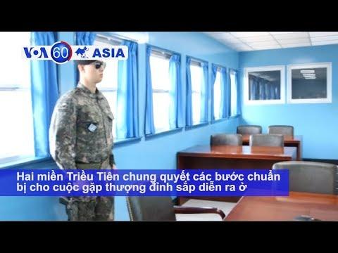 Hai miền Triều Tiên sẵn sàng bước vào cuộc gặp thượng đỉnh