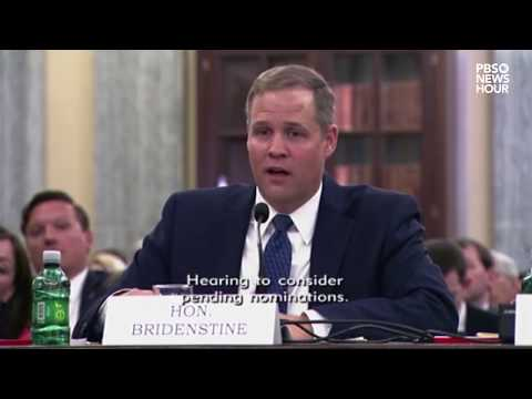 Rep. Bridenstine discusses climate change science during confirmation hearing - default