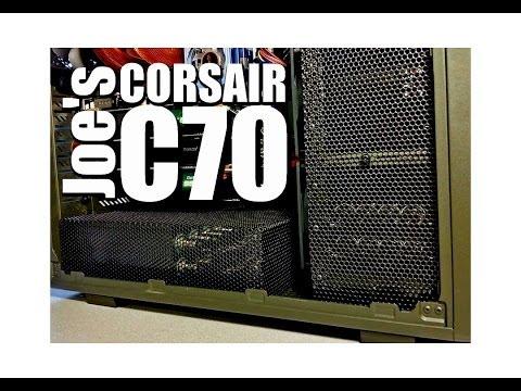 Joe mods his Corsair C70 Case, www.Mnpctech.com - UCcnCXoB2dRjaTKkcd3l517Q