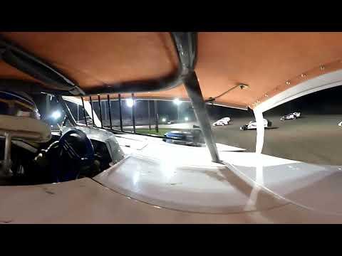 Trevor Drake #12D B main Imca Mod boone super nationals 2021 - dirt track racing video image