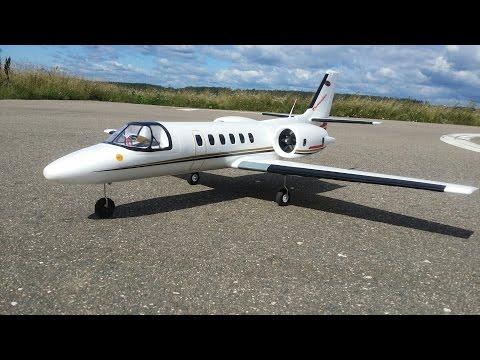 Радиоуправляемый самолет Dynam Cessna 550 Turbojet ... Полеты - UCvsV75oPdrYFH7fj-6Mk2wg