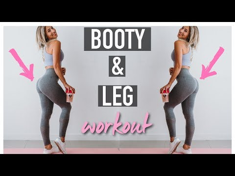 The Best LEG & BOOTY Exercises w/ Resistance Bands // Grow your booty from HOME by Vicky Justiz - UCR117JPMLO3Y7J5mIblkBNg