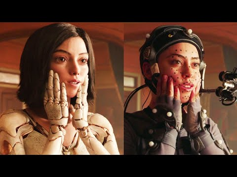 ALITA BATTLE ANGEL Performance Capture + Behind The Scenes Clips - UCnIup-Jnwr6emLxO8McEhSw