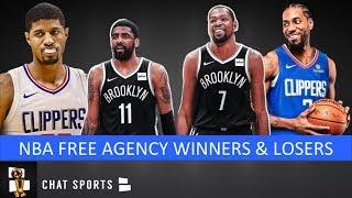 NBA Free Agency Winners & Losers Feat. Clippers, Knicks, Nets, Mavs, Raptors & Hornets