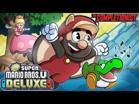 New Super Mario Bros. U Deluxe  | The Completionist | New Game Plus - UCPYJR2EIu0_MJaDeSGwkIVw