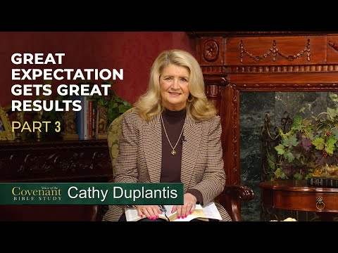 March Voice of the Covenant Bible Study, Part 3  Cathy Duplantis
