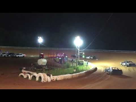 Lake View Motor Speedway 8-7-21 Stock V8 Gerraldfarms - dirt track racing video image