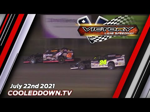 Victory Lane Speedway 2021 Season Opener Live on PPV, Thursday July 22nd 2021 - dirt track racing video image