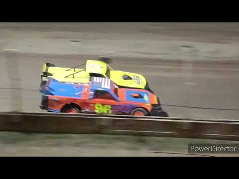 Pro Truck A-Main - Crystal Motor Speedway - 9-4-2021 - dirt track racing video image