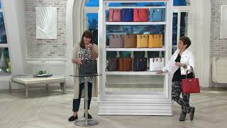 Dooney & Bourke Pebble Leather Small Lexington Shopper on QVC