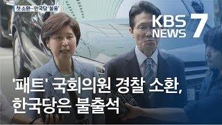 '패스트트랙' 국회의원 첫 소환…한국당 보이콧 속내는? / KBS뉴스(News)