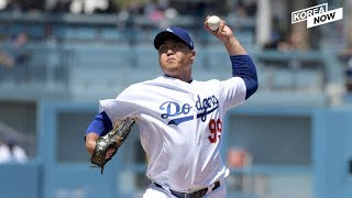 Dodgers' pitcher Ryu Hyun-jin achieved a combined 150 wins in the U.S. and South Korea