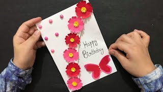Handmade Card Tutorial For Birthday   Customized Birthday Gift Ideas