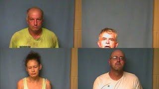 4 Arrested for Independence County body found case