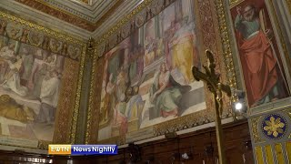 Restoring to glory: Work being done on St. Jerome's in Rome ENN - 2019-07-12