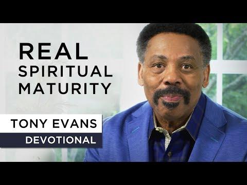 What Spiritual Growth Looks Like - Tony Evans Devotional
