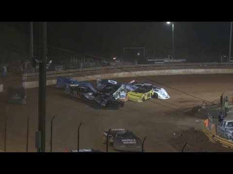 602 Thunder Series at Lavonia Speedway June 4th 2021 - dirt track racing video image