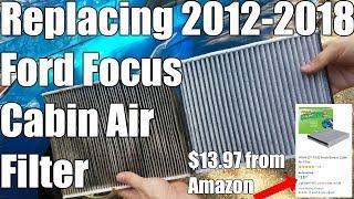 Sostituire filtro abitacolo Ford Focus