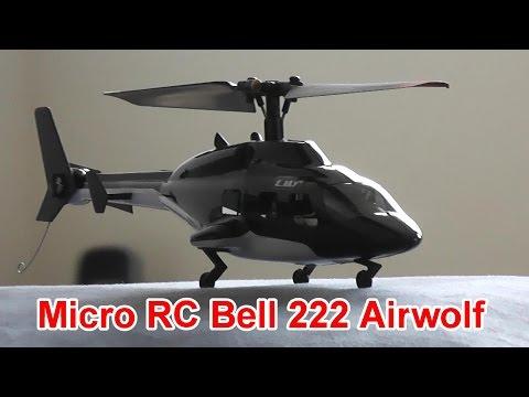 Micro RC Bell 222 Airwolf Helicopter Indoor Flight - UCsFctXdFnbeoKpLefdEloEQ