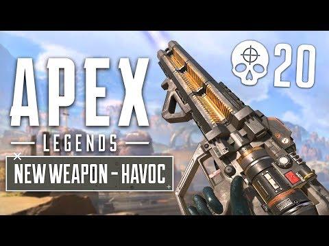 NEW GUN UPDATE!! Havoc Energy Gun Gameplay! (Apex Legends Gameplay) - UC2wKfjlioOCLP4xQMOWNcgg