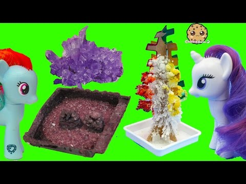 Grown Your Own Rainbow Crystal Tree + Rocks ? - Dollar Tree Crafts with MLP + Gemma Stone - UCelMeixAOTs2OQAAi9wU8-g