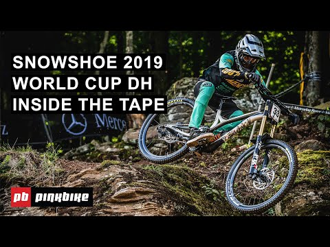 Smashing Rock Gardens at the Snowshoe World Cup DH 2019 | Inside The Tape w/ Ben Cathro - UC2GIHZpQiJy-8286f4lj_cg