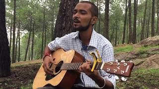 Sanu ik pal chain na aawe cover by me - ankesh.ankz , Acoustic