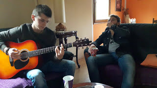 Soldier of fortune acoustic live cover by Dima & Nikola