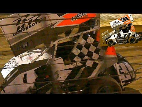 Formula 500 Simvegas Nationals Jettco Final Simpson Speedway 13-1-2018 - dirt track racing video image