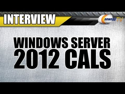 Newegg TV:  Microsoft Windows Server 2012 CALs Interview - UCJ1rSlahM7TYWGxEscL0g7Q