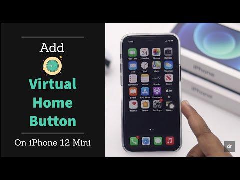 Add Virtual Home Button on iPhone 12, 12 Mini, iPhone 12 Pro, 12 Pro Max