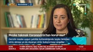 Uzm. Dr. Melda Özdamar - Yeni Coronavirüs'ten korunmak için ellerimizi nasıl yıkamalıyız? Maske takmak bizi korur mu? - NTV