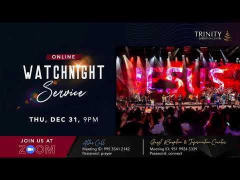 Trinity Christian Centre - Sun 11am (SGT) English Online Service