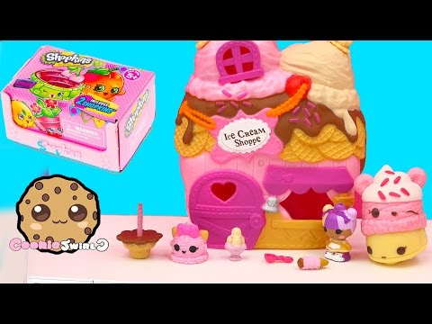 Scoops House Ice Cream Shoppe Lalaloopsy Tinies Playset + Season 4 Shopkins Blind Bag Unboxing - UCelMeixAOTs2OQAAi9wU8-g