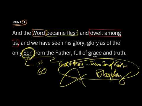 John 1:14 // God Lived Among Us