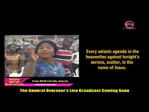 FRENCH MFM SPECIAL MANNA WATER SERVICE WEDNESDAY JULY 8TH 2020