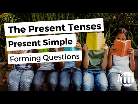 English Grammar -- Present Simple -- Forming Questions -- Teaching English Second Language