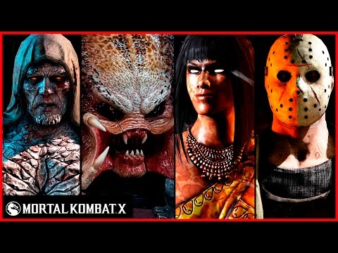 Mortal Kombat X Predator, Jason, Tremor, Tanya Fatalities Brutalities X-Ray Intro Ending Compilation - UCWv-0hCp1C3g3OXkY6ssyvQ
