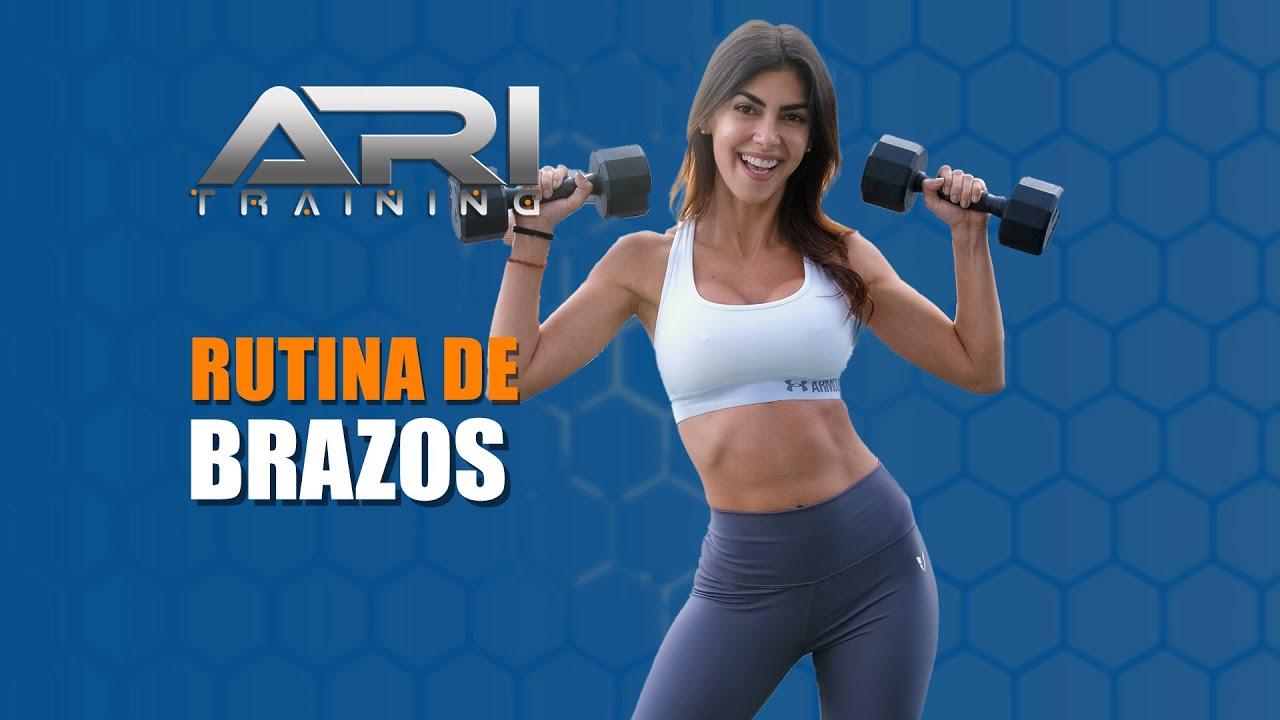 Rutina de BRAZOS – Ari Training – #ArmsWorkout