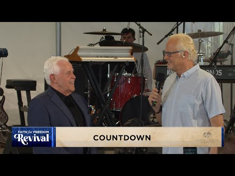 Faith for Freedom Revival: Wednesday Evening Countdown (6:30 p.m. CT)