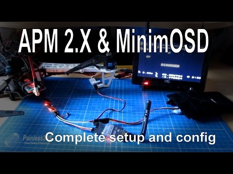 APM 2.5/2.6/2.7 - Adding an OSD for FPV using MinimOSD - complete setup - UCp1vASX-fg959vRc1xowqpw