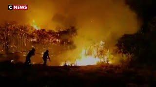 Espagne : un violent incendie ravage l'île de Grande Canarie
