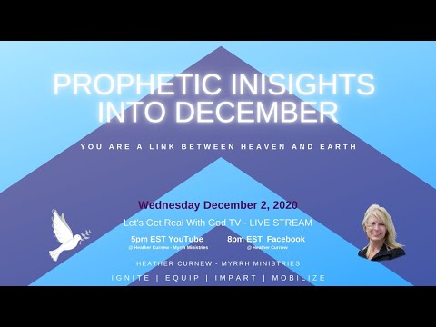 PROPHETIC INSIGHTS INTO DECEMBER