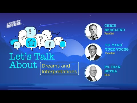 Let's Talk About Dreams & Interpretations  Cornerstone Community Church  CSCC Online