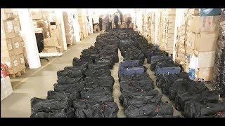 ZOLL JUBELT: Mega-Fund - 4,5 Tonnen Kokain im Hamburger Hafen entdeckt