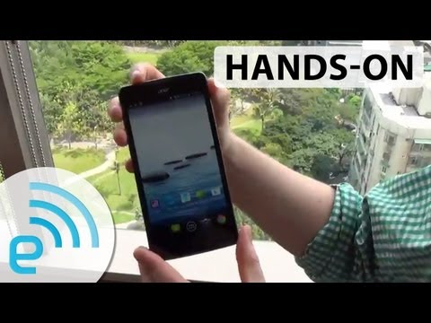 Acer Liquid S1 hands-on | Engadget at Computex 2013 (Earthquake Edition) - UC-6OW5aJYBFM33zXQlBKPNA