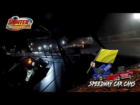 #B3 Brian Strickler - Steel Block - 9-18-21 Sumter Speedway - In-Car Camera - dirt track racing video image